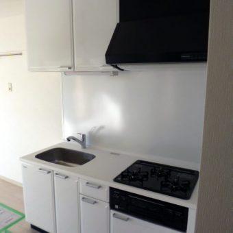 セクショナルキッチンからシステムキッチンへ 札幌市 分譲マンション