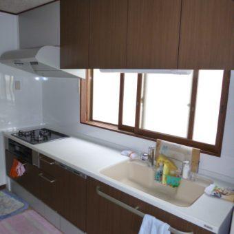 安心の人造大理石天板 トクラス(旧ヤマハ)Bbでキッチンリフォーム 江別市