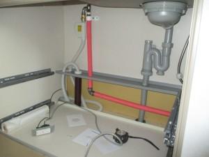 施工中食器洗い機
