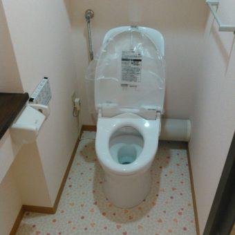 オート開閉で腰への負担を軽減、節電効果も抜群トイレの事例!札幌市