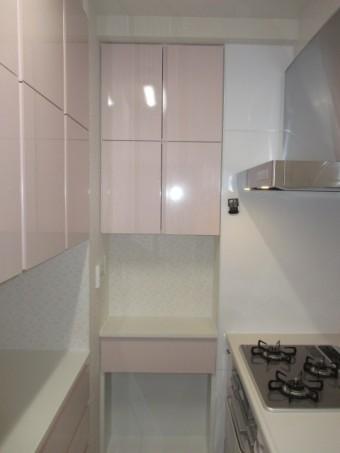 オーダー製小食器棚