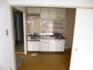 施工前キッチン