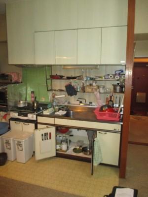 既存キッチン25