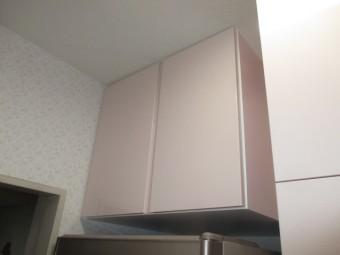冷蔵庫上オーダー製吊戸棚
