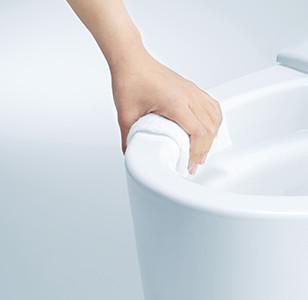 TOTOトイレ ネオレスト フチなし形状