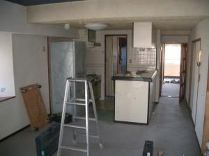 既存キッチン62