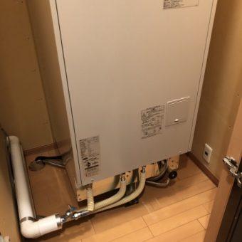 戸建住宅でのセミオートタイプ電気温水器交換リフォーム!札幌市