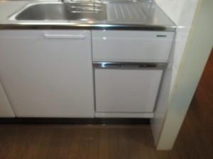 シンク下食器洗い乾燥機2