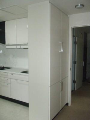 オーダー収納棚キッチン
