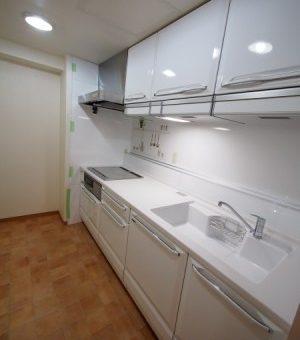 北広島市マンション・システムキッチン、タカラの「リテラ」へリフォーム!