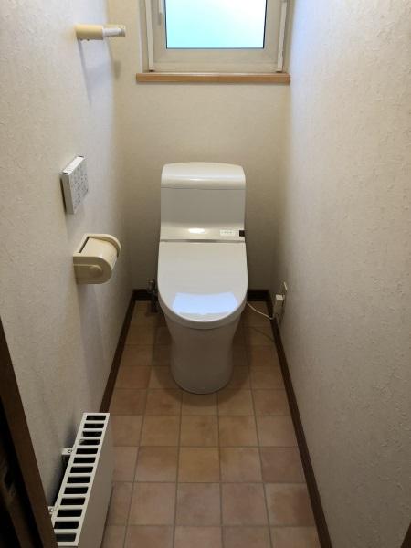 2施工後トイレ2F HV手洗い無し