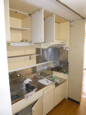 既存キッチン56