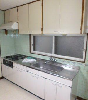 キッチン下台のみの交換で、すっきりリフレッシュ! 札幌市東区戸建住宅
