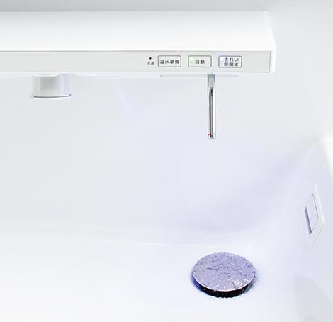 TOTO ラクラクスマート水栓 きれい除菌水