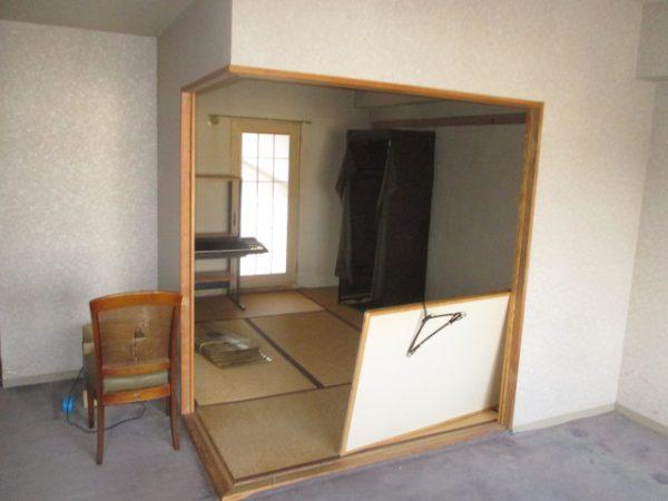 リフォーム前和室空間