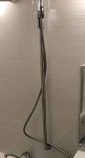 シャワーフックスライドバー(手すりタイプ)