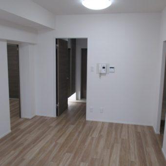 和室を含め、全ての部屋をフローリングへ貼り替え!札幌市マンション
