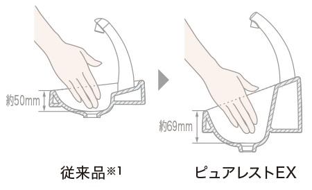 TOTO ピュアレストEX 手洗い
