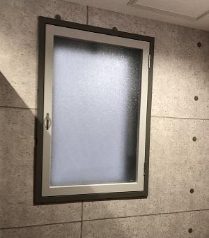 施工後・トイレ窓