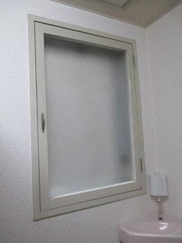 施工前 トイレ窓