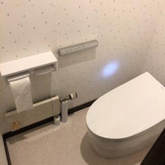 TOTO『ネオレスト』でキレイが続くトイレ空間にリフォーム 札幌市