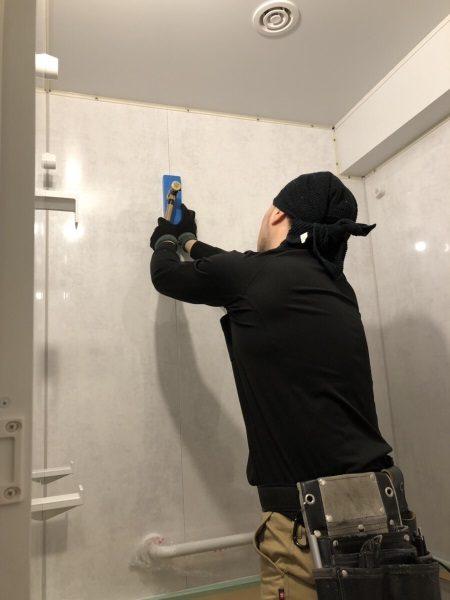 2施工中浴室2