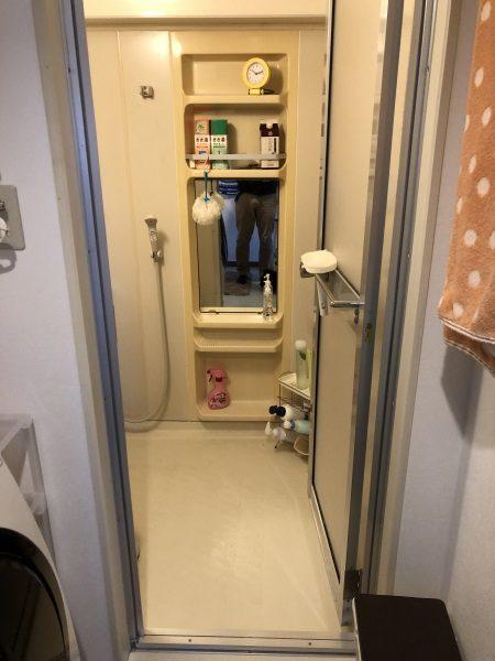 1施工前浴室