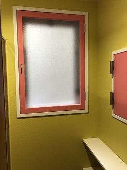 施工後 トイレ窓