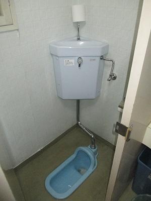 施工前 和式トイレ