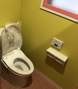 テナントビルのトイレを和式から洋式に交換 お手入れしやすいトイレへ 札幌市[女子トイレ編]