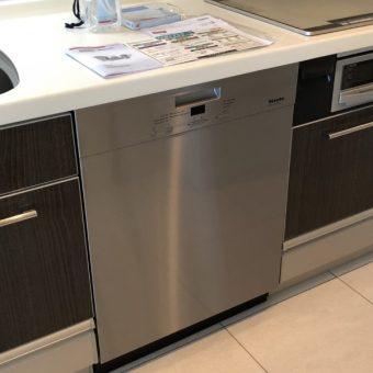 ドイツ食器洗い乾燥機『ミーレ』を新規取付工事!札幌市マンション