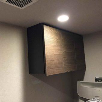 自社工場オーダー吊戸棚でスペースの有効活用!札幌市マンション