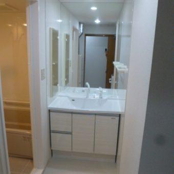 タカラ木製洗面『リフレシオ』でシンプルリフォーム!札幌市マンション