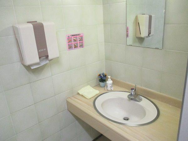 施工前手洗い