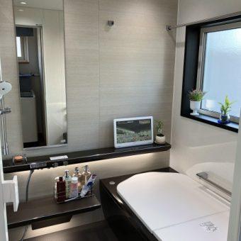 まるで高級ホテル!プレミアムなバスルーム、TOTO『シンラ』へリフォーム 小樽市