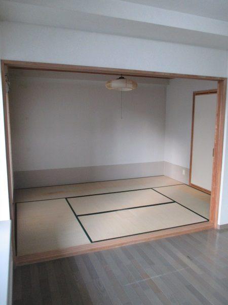 1施工前和室・リビング