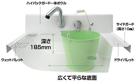 リクシル洗面化粧台ピアラ2
