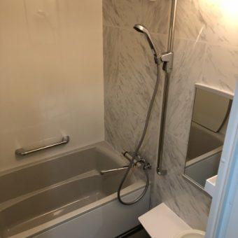 『伸びの美浴室』で高級感のあるバスルームへリフォーム!札幌市マンション