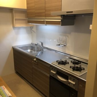 ナチュラルな木製キッチン『グレーシア』でお洒落かつ便利に!札幌市マンション