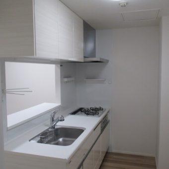 L型からI型システムキッチンへリフォームでコンパクトに使いやすく!札幌市マンション