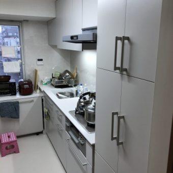 TOTO『ザ・クラッソ』+オリジナルオーダー家具収納!札幌市マンション
