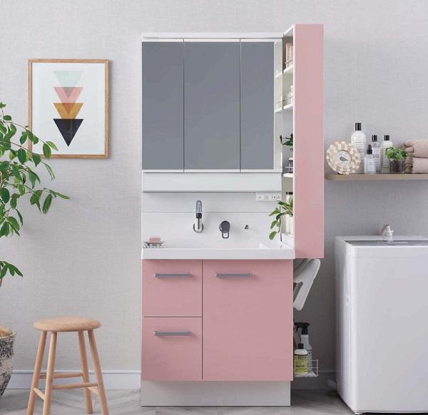 リクシル洗面化粧台ピアラ1