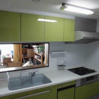 トクラスのマーブルシンク&カウンターでキッチンが使いやすく!札幌市マンション