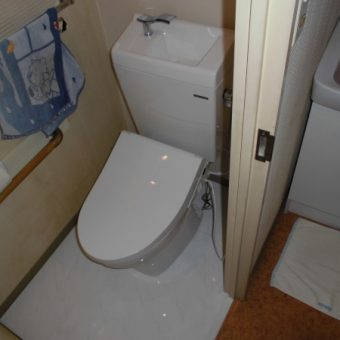 タカラのトイレ『ティモニFシリーズ』とホーロー床パネルで快適に!札幌市マンション