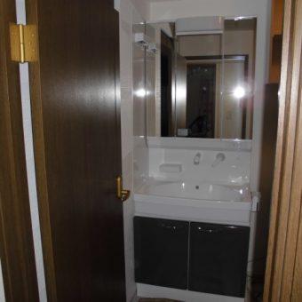 タカラホーロー洗面化粧台『オンディーヌ』施工事例!札幌市