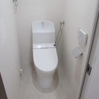 TOTOトイレ『HVシリーズ』へリフォーム!札幌市マンション