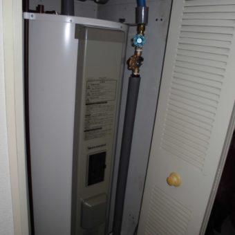 電気温水器丸型給湯専用タイプ交換施工事例!札幌市マンション
