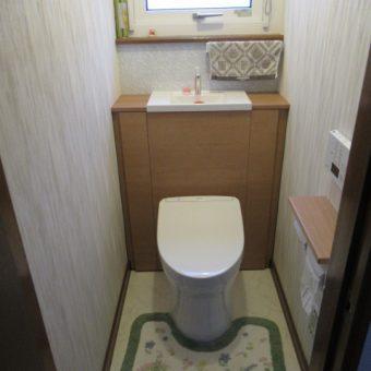 収納付きトイレでスッキリとした空間に!札幌市