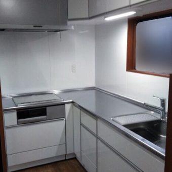 タカラ『エマージュ(EMAGE)』へL型キッチンのリフォーム!戸建て