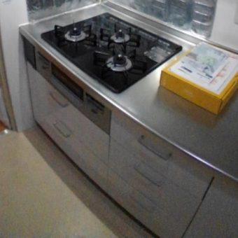 ココットプレート付きガスコンロで料理の幅も広がります!札幌市マンション